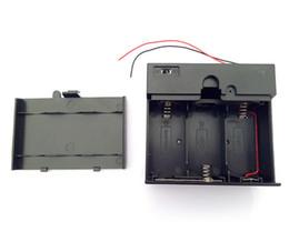 2019 batterie 1.5v d 1.5V X3 D Boîte de batterie D Porte-batterie Boîte fermée Avec interrupteur 4.5V Boîte de batterie batterie 1.5v d pas cher