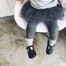 Wholesale Toddler White Lace Leggings - toddler girls legging warm pants new tutu skirt pant leggings one piece trousers children wearing 4 colors for kids infants cotton