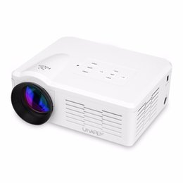 Wholesale Manual Atv - Wholesale-Portable BL35 Multimedia Mini LED Projector Home Theater Beamer 640*480 800 Ansi Lumens Proyector With USB SD VGA HDMI AV  ATV