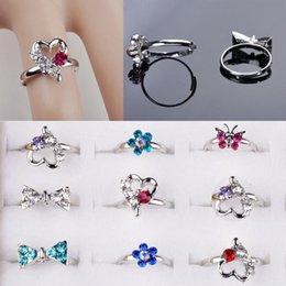 Wholesale Titanium Rings For Women Cheap - wholesale mix style silver plated ring for women cheap rings