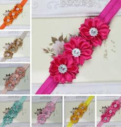 Wholesale Baby Curls - Hot Sale Baby HairBand flower hair band baby hair curling headband children headdress