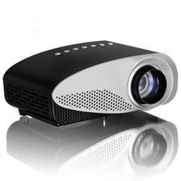Wholesale Led Tv Tuners - Wholesale-Smallest LED Digital LCD Video Game Pico Micro Portable Small Mini Projector Built-in Speaker HDMI USB AV VGA TV Tuner
