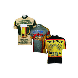 Wholesale Cycling Jersey Customize - 2017 Beer cycling jersey men summer cycling clothing short-sleeve ropa de ciclismo Customized this guy needs beer funny jersey
