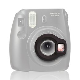 Wholesale Shoot Cameras - Wholesale- Instax Mini 8 Instant Camera Close-up Lens Self Shoot Mirror by Takashi - Black
