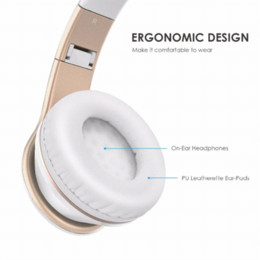 Wholesale Ipad Headphones Volume Control - Sound Intone I65 Bass Headphones with Microphone and Volume Control Foldable Stere Headset for iPhone 6 6s iPad iPod Android
