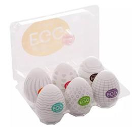 Wholesale Tenga Male - Hot sale TENGA Male Masturbator egg Sex Toys Silicone Pussy Egg Pocket Masturbator for Man Sex Products