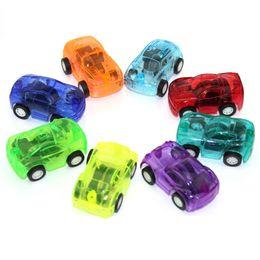 5pcs juguetes para bebés tirar de coches de plástico coches de juguete lindos para ruedas infantiles Mini modelo de coche juguetes divertidos para niños para niños color al azar desde fabricantes