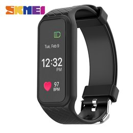 Wholesale Moniter Watch - SKMEI Men Women Smart Watches Heart Rate Sleep Moniter Band Calorie Pedometer Chronograph Digital Wristwatches Relogio L38I