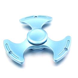 Canada Nouveau Fidget Stress Spinner Métal Anti-Stress En Aluminium Gyro Pour Autisme Et TDAH Temps De Rotation Long Offre