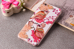 Wholesale Galaxy Note Silicon Case - Luxury Phone Cover For iphone 7 7plus 6s 6plus Cases 3D Relief Painting TPU Soft Silicon Back Cover Case for Samsung Galaxy S7 S7EDGE Note 5