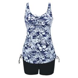 Wholesale Skirt Swimsuits Sexy - 2017 New Sexy Swimwear increase swimsuit female skirt lotus beach swimsuit looks slim PRINT SWIMSUIT