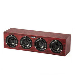 Wholesale china hifi - New Wired Wooden Mini Computer Speaker USB Stereo HIFI Loudspeaker Super Bass Stereo Loudspeaker Home Theater Sound Syster