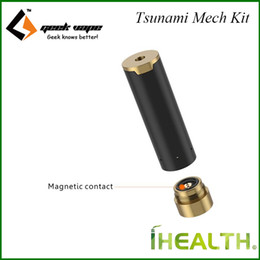 Wholesale Hybrid Mods - GeekVape Black Ring Plus mechanical MOD interchangeable between 510 mode and hybrid mode, replaceable sleeve and enhanced magnetic button