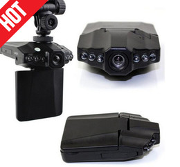 Wholesale Portable Lcd Dvr - 11CM*6.4*2 cm H198 night version Car Video Recorder dashcam with 2.5'' TFT LCD Screen 1.0MP 300mah Battery Portable DVR hd Auto Car DVR
