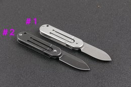 Wholesale Ball Bearing Keychain - New Arrival Ball bearing Bean Serge fast open keychain outdoor camping hunting survival EDC tool buckle mini folding pocket knives