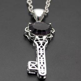 Wholesale 925 Silve - Wholesale 925 Sterling Silve Pendant 10PCS LOT Gemstone London Blue Topaz Amethyst Bling Jewelry Nice Jewelry Free Shipping