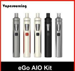Kits de démarrage Joyetech eGO AIO kit e cigarettes Kits de démarrage stylo 100% d'origine 2.0ml Capacité utilisation Bobines électroniques Cubis BF Coil 0.6ohm ? partir de fabricateur