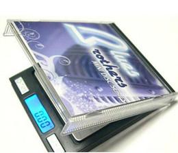 Petite balance de poche en Ligne-Échelle numérique de bijoux de vente directe d'usine Échelle numérique de poche de mini échelle numérique 0.1g petites échelles de CD 500g / 0.1g Weegschaal de Digitale