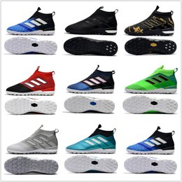 Wholesale Dragon Pvc - 2018 Adidas ACE 17+ PureControl FG Dragon Soccer Shoes 17.1 Outdoor Football Shoes ACE Tango 17+ Purecontrol TF IN Soccer Football Cleats
