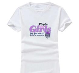 Wholesale Pleasures Women - Pleasure Life 2017 New Fashion Women Men Cotton O Neck Short Sleeve Print Casual T-Shirts loose Personalized unique Tees Wholesale