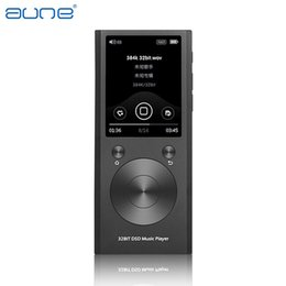 Wholesale Flac Mp3 - Wholesale- New Aune M1S Portable Professional Lossless Music MP3 HIFI Music Player DAP Supported WAM FLAC DSD APE MP3 ALAC AAC