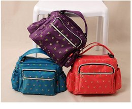 Wholesale Baby anti theft mommy bag multi functional shoulder Mummy bags maternal and child supplies pregnant women out of the bags