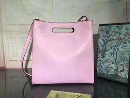 Wholesale Bamboo Handbags - Classic tote shoulder messenger bag genuine leather handbag lady good quality many colors purse