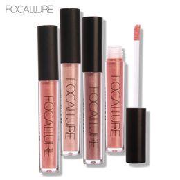 Wholesale lipstick pens wholesale - 2017 FOCALLURE Brand Makeup 37 color matte Lip Gloss lasting waterproof lipstick velvet silky matte color lipstick Lip Gloss pen FA24