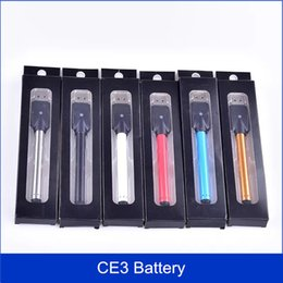 Wholesale Pen Best - best quality BUD Battery CE3 O-pen Touch Pen 280mAh Vapor pen 510 e cigarettes for Wax Oil Cartridge Vaporizer