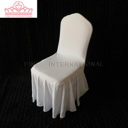 Wholesale Cover Swag - swag bottom spandex lycra banquet chair cover