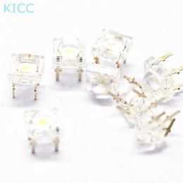 Grânulos de lâmpada led azul on-line-Atacado- 20 * Blue Piranha Light Beads 5MM Super brilhante lâmpada contas 5mm LED