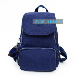 Wholesale Ladies Floral Backpack - 2017 New High Quality Unisex Super Light Nylon Lady Backpack Women Men Outdoor Fashion Schoolbag Travelling Bags Backpack dhY-501
