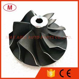 Rueda del compresor del turbocompresor online-TD05 TD05H TD06 20G EVO Turbocompresor / Turbo Compressor Wheel 68.00 / 52.5mm 6 + 6 para Mitsubishi