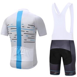 Wholesale Mens Cycle Jersey - 2017 new cycling jersey 3D gel pad bike shorts Ropa Ciclismo quick dry team bicycling wear mens summer bicycle Maillot Suit