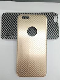 Wholesale Elago Cases - PHONE CASE FOR IPHONE Elago carbon fiber hardware +TPU mobile phone protective cover