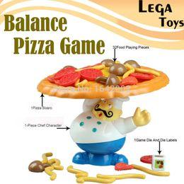 Atacado-Pile-Up Jogo Incline Interactive Balance Board Jogo Pizza Kids Crianças Grande novidade educacional Diversão em Família brinquedos para crianças de
