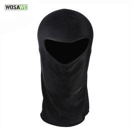 Wholesale Uv Face Caps - WOSAWE Outdoor Sports Bicycle Cycling Motorcycle Masks Ski Hood Hat Veil Balaclava UV Full Face Mask Cycling Caps
