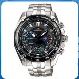 Wholesale Bull Buckles - EF-550RBSP-1AV AAA Men Wristwatches Sport Swiss Quartz Movement Gentleman Red Bull Limited Edition Racing Replicas Incoulding Watch Box 2018
