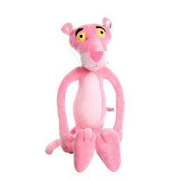 Wholesale Naughty Toys - The Naughty Pink Panther Stuffed Toy Plush Doll 55cm 22inch