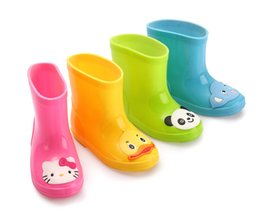 Wholesale Baby Rainboots - Free shipping Children's shoes Rain Boots Winter Baby Boys Girls Snow Boots shoes fashion Baby shoes Children's Rubber boots