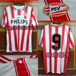 Wholesale Vintage White Sweater - 94-95 PSV home jerseys Eindhoven Retor jerseys classic shirts vintage sweater Ronaldo jerseys