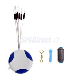 Wholesale Space Beans - Wholesale- 4 in 1 Fishing Tackle Tools - Fishing Space Beans Fishing Sheet Lead Float Seat and Swivels 5 Size Available