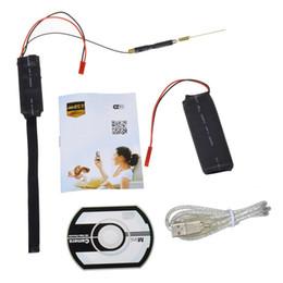 Wholesale Diy Ccd Camera - HD 1080P WiFi IP Camera Nanny Cam Mini DV DIY Module DVR P2P Wireless Security Camera For APP Real-time Monitoring