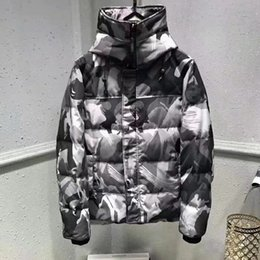 Wholesale Women S Down Coats - Men women Parkas WINTER CANADA style Down Parkas WITH HOOD male Snowdome jacket Brand White Duck men's Outerwear & Coats Camouflage lover