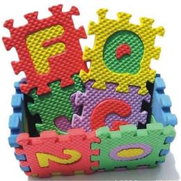 wholesale foam letter mat wholesale 36 pcs set foam puzzle kid educational toy alphabet