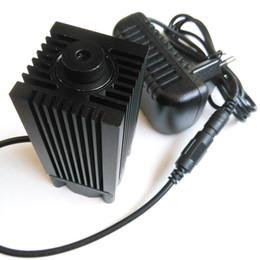 Cnc-modul online-2800mW / 2,8W 445nm / 450nm fokussierbares blaues Laser-Hochleistungsmodul DC 12V, das Mini-Schneider cnc diy graviert