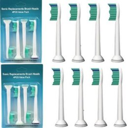Wholesale Sonicare Heads - High Quality Sonic Toothbrush Heads Sonicare Compatible HX6014 HX6013 HX6011 Brush Heads Replacement 4pcs pack CCA6672 10000pcs