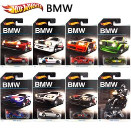 Wholesale Game Car Racing - Hot Wheels Game Racing Car BM Edition Car Models Series Metal Diecast Car Collection Kids Toy Vehicle Juguetes 8 pieces one set