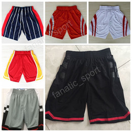 Wholesale Houston Black - 2017 Throwback Basketball Shorts Men Houston 13 James Harden Pant Breathable All Stitched Running Short Team Red White Excellent Quality