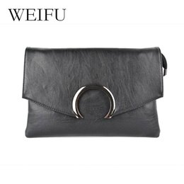 Wholesale First Package - Free shipping 2017 new leather women handbags The first layer leather handbag Women inclined bag, cell phone package